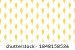 Wheat Pattern Wallpaper. Oat...