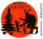 Krampus. Traditional Christmas...