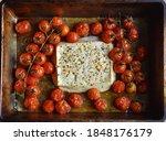 Baked Feta Pasta. Feta Cheese...