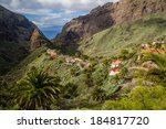 View Of Masca Village With...