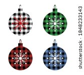 Christmas Set Balls With...