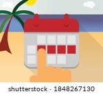 take leave request and enjoy...   Shutterstock .eps vector #1848267130
