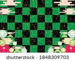 green black japanese...   Shutterstock .eps vector #1848309703