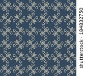 seamless pattern. geometric... | Shutterstock . vector #184832750