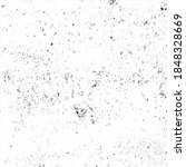 grunge black and white ink... | Shutterstock .eps vector #1848328669