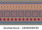 vector floral border with... | Shutterstock .eps vector #1848408430