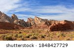 Red Rock Formations And The...