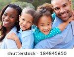 portrait of african american... | Shutterstock . vector #184845650