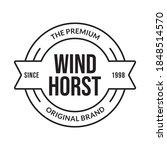 vintage badge  label or logo.... | Shutterstock . vector #1848514570