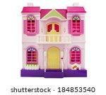 Doll Pink Plastic House...
