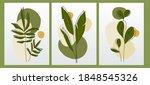 vector botanical vertical...   Shutterstock .eps vector #1848545326
