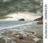 Seascape With Stormy Sky...