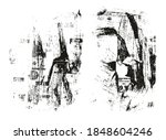 ripped   torn paper background... | Shutterstock .eps vector #1848604246