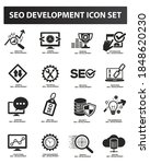 seo search engine vector icon... | Shutterstock .eps vector #1848620230