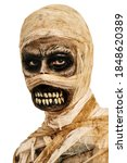 Portrait Of A Scary Mummy On A...