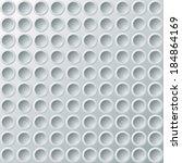 white identical plates. eps10... | Shutterstock .eps vector #184864169