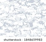 military camouflage pattern.... | Shutterstock .eps vector #1848659983