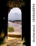 An Open Door Of The Ancient...