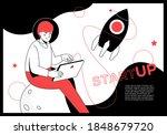 startup   modern flat design... | Shutterstock .eps vector #1848679720