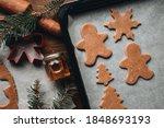 Christmas Cookies. Making...