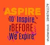 typography of inspirational...   Shutterstock .eps vector #1848761179