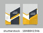 creative and clean abstract... | Shutterstock .eps vector #1848841546