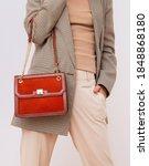 Paris Lady In Fashion Elegant...