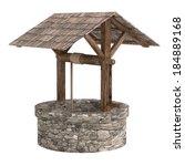 realistic 3d render of medieval ... | Shutterstock . vector #184889168