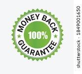 money back guarantee  risk free ... | Shutterstock .eps vector #1849001650