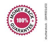 money back guarantee  risk free ... | Shutterstock .eps vector #1849001653