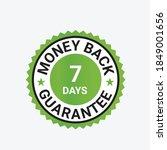 money back guarantee  risk free ... | Shutterstock .eps vector #1849001656