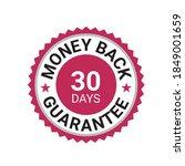 money back guarantee  risk free ... | Shutterstock .eps vector #1849001659