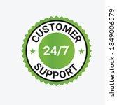 customer support vector logo ... | Shutterstock .eps vector #1849006579