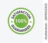 satisfaction guarantee badge... | Shutterstock .eps vector #1849010323