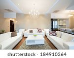 interior of a modern spacious... | Shutterstock . vector #184910264