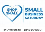 small business saturday is an... | Shutterstock .eps vector #1849104010