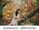 Autumn Fairy Tale. Fantasy...