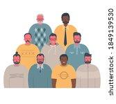men's community. male... | Shutterstock .eps vector #1849139530