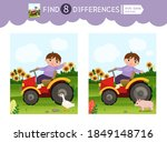 find differences.  educational... | Shutterstock .eps vector #1849148716