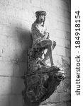 sculpture of bound jesus with... | Shutterstock . vector #184918154