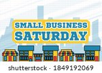 small business saturday is an... | Shutterstock .eps vector #1849192069