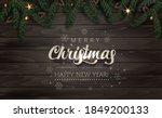 christmas celebration  tree... | Shutterstock .eps vector #1849200133