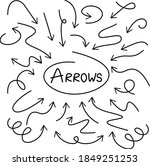 this image shows arrows ... | Shutterstock .eps vector #1849251253