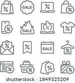 sale discount icon illustration ... | Shutterstock .eps vector #1849325209