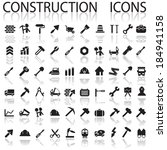 construction icons | Shutterstock .eps vector #184941158