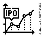 ipo initial public offering... | Shutterstock .eps vector #1849550476