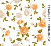 Roses  Floral Background ...