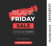 editable square banner template.... | Shutterstock .eps vector #1849608559