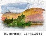 Kilchurn Castle And Lake ...