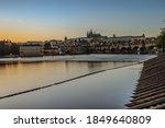 Postcard View Of Evening Prague ...